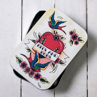 Tattoo Heart Storage Tin - Tattoo Gifts