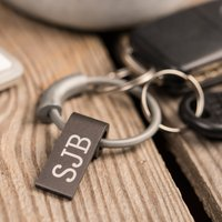 Personalised Fine Key Ring and USB Key