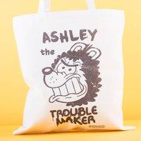 Personalised Beano Big Heads Tote Bag - Gnasher - Beano Gifts