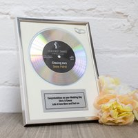 Personalised First Dance Gold Didi Disc - Dance Gifts