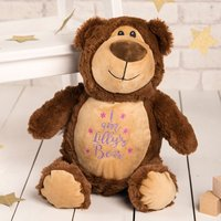 Personalised Cubbies Classic Teddy Bear Soft Toy