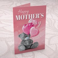 Me to You Mother's Day Card - Heart Balloons - Balloons Gifts