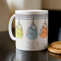 Personalised Mug - Family Cups - Cups Gifts