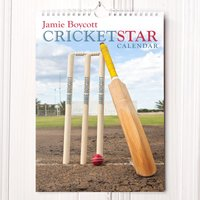 Personalised Cricket Calendar - New Edition - Calendar Gifts