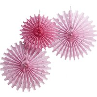 Floral Fancy Tissue fan Decorations - Decorations Gifts