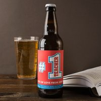 Personalised Beer - No.1 Teacher - Beer Gifts
