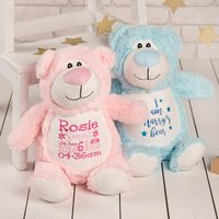 Personalised Cubbyford Bear Soft Toy