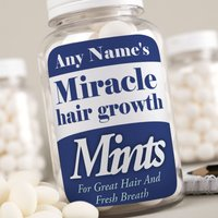 Image of Personalised Mints - Miracle Hair Growth Mints
