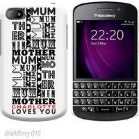 Personalised BlackBerry Cover - Mum Mum Mum - Blackberry Gifts