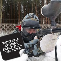 Paintball Combat Experience Day For 8 - Paintball Gifts