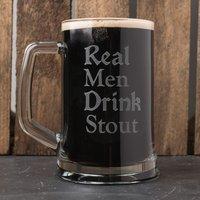 Engraved 2 Pint Tankard - Real Men - Men Gifts