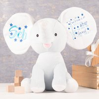 Personalised Cubbies Dumbles The Elephant Soft Toy - Elephant Gifts