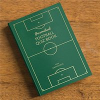 Personalised Football Quiz Book - For Your Team - Football Gifts
