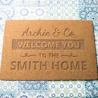 Personalised Welcome You Outdoor Doormat - Outdoor Gifts