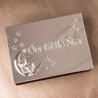 Engraved Photo Album - Our Little Star - Photo Album Gifts
