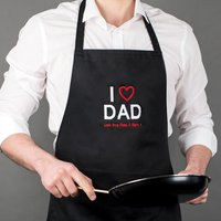 Image of Personalised Apron - I Love Dad