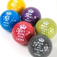 Keep Calm Golf Balls - Golf Gifts
