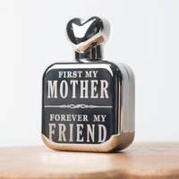 Personalised Perfume Atomiser with Heart Lid - First My Friend - Perfume Gifts
