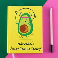 Personalised Diary - Avo-Cardio - Diary Gifts