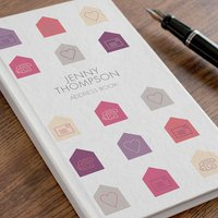 Personalised Address Book - Hearts & Houses - Book Gifts