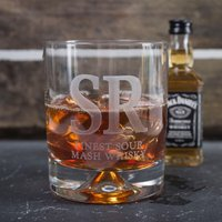 Personalised Birthday Whisky Tumbler and Jack Daniels Miniature - Finest - Getting Personal Gifts