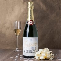 Luxury Personalised Champagne - The Future Mrs...