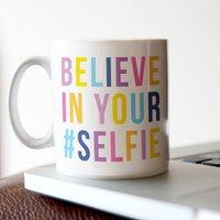 Personalised Mug - #SELFIE - Selfie Gifts