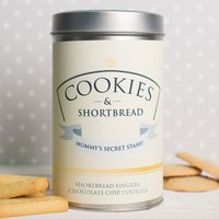 Personalised Tin With Biscuits - Cookies & Shortbread - Cookies Gifts