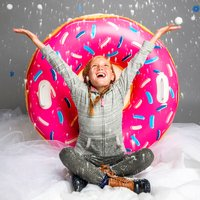 Inflatable Snow Tube - Donut - Inflatable Gifts