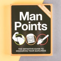 Man Points Book - Book Gifts