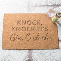 Personalised Knock Knock It's Outdoor Doormat - Outdoor Gifts