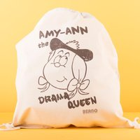 Personalised Beano Big Heads Drawstring Bag - Minnie - Beano Gifts