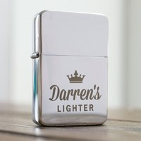 Engraved Lighter - Crown - Lighter Gifts