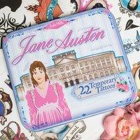 Jane Austen Temporary Tattoos - Tattoos Gifts