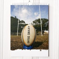Personalised Rugby Calendar - 1st Edition - Rugby Gifts