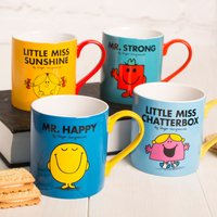 Mr Men & Little Miss Mug - Men Gifts