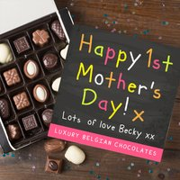 Personalised Belgian Chocolates - 1st Mother's Day