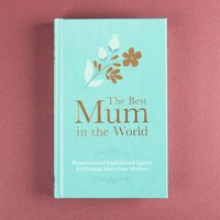 Best Mum In The World Book - Book Gifts
