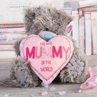 Me To You Tatty Teddy Plush Bear - Best Mummy In The World - Tatty Teddy Gifts
