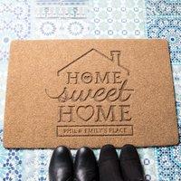 Personalised Home Sweet Home Outdoor Doormat - Outdoor Gifts