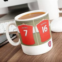 Personalised Arsenal Mug - Cutlery Gifts