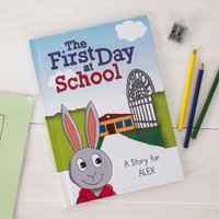 Personalised Book - The First Day at School - Book Gifts