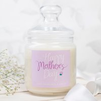 Personalised Deluxe Jar Candle - Happy Mother's Day