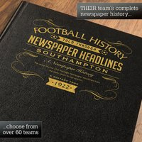 Personalised Southampton Football Book - Football Gifts