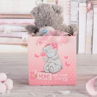 Me To You Tatty Teddy Plush Bear In A Bag - If Mums Were Flowers - Tatty Teddy Gifts