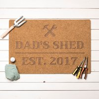 Personalised Shed Outdoor Doormat - Outdoor Gifts