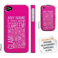 Personalised 'Totes Reem' Phone Cover - Pink - Gadgets Gifts