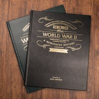 Personalised Newspaper Book - World War II - Newspaper Gifts