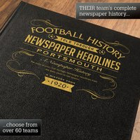 Personalised Portsmouth Football Book - Football Gifts