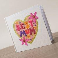 Best Mum Photo Album - Photo Album Gifts